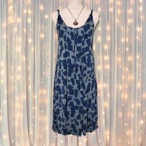 Lauren Conrad Blue Tank Knit Dress w/ Pockets NWT